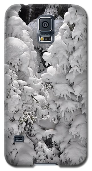 Galaxy S5 Case featuring the photograph Snow Coat by Alex Grichenko