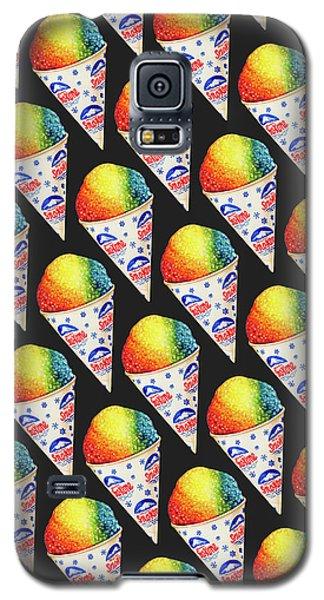 Ice Galaxy S5 Case - Snow Cone Pattern by Kelly Gilleran