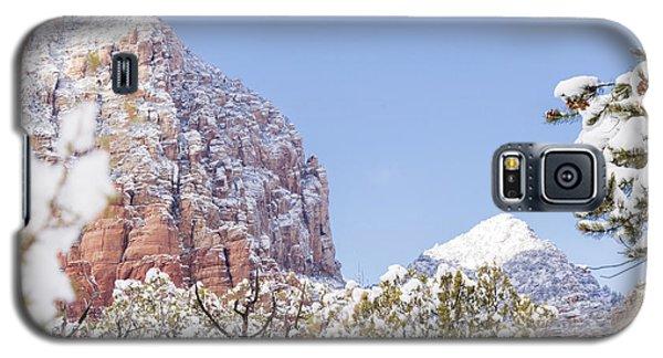 Snow Covered Galaxy S5 Case by Laura Pratt