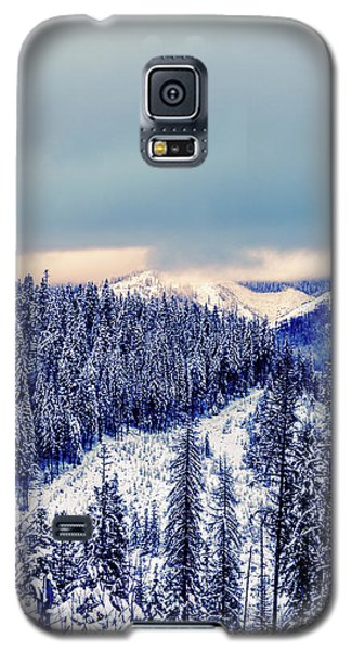 Snow Covered Mountains Galaxy S5 Case