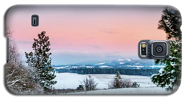 Snow Covered Valley Galaxy S5 Case