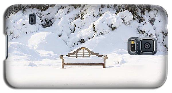 Snow Dwarfed Bench Galaxy S5 Case
