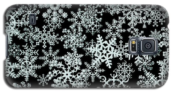 Snow Flakes  Galaxy S5 Case
