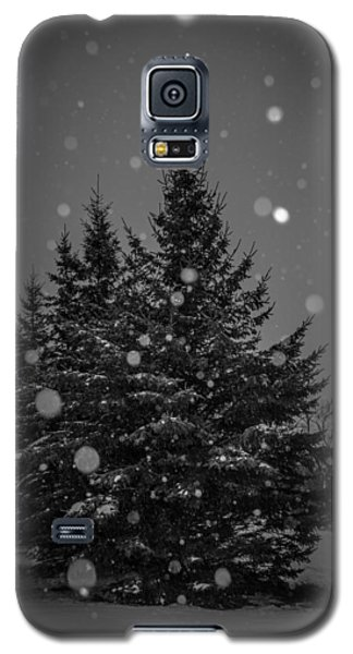 Galaxy S5 Case featuring the photograph Snow Flakes by Annette Berglund