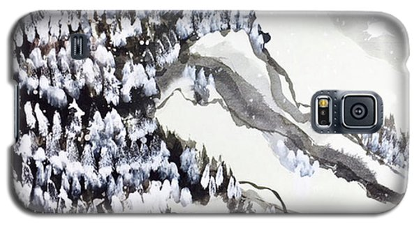 Snow Forest Galaxy S5 Case