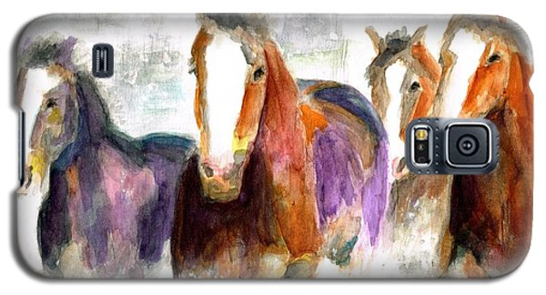Snow Horses Galaxy S5 Case
