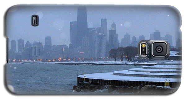Snowy Chicago Galaxy S5 Case