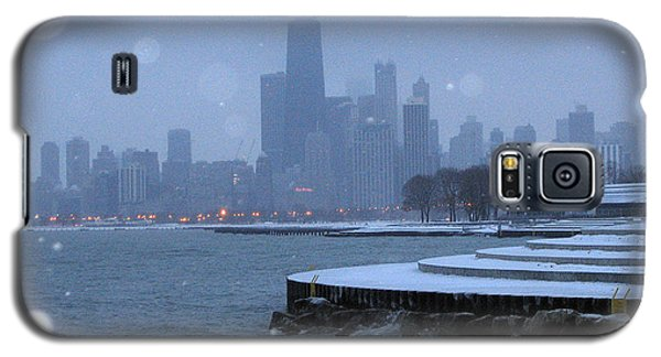 Snowy Chicago Galaxy S5 Case