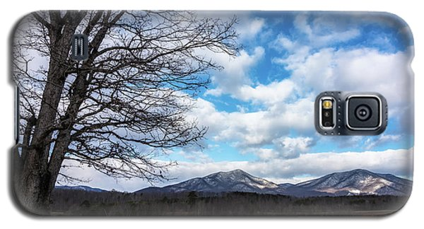 Snow In The High Mountains Galaxy S5 Case by Steve Hurt