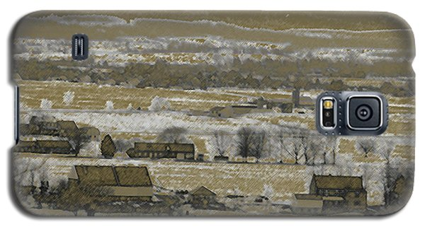 Galaxy S5 Case featuring the photograph Snow In The Valley by Vilas Malankar