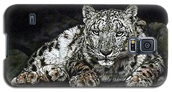 Snow Leopard Galaxy S5 Case