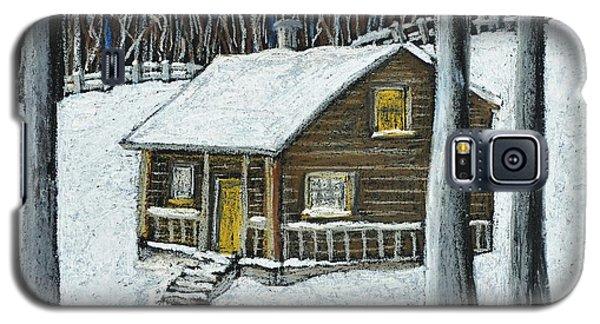 Snow On Cabin Galaxy S5 Case