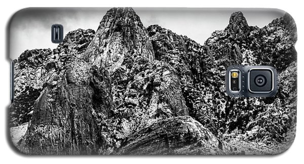 Galaxy S5 Case featuring the photograph Snow On Peaks 46 by Mark Myhaver