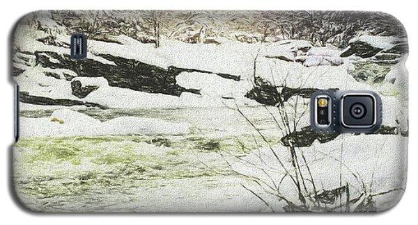 Snow On The Natchaug Galaxy S5 Case