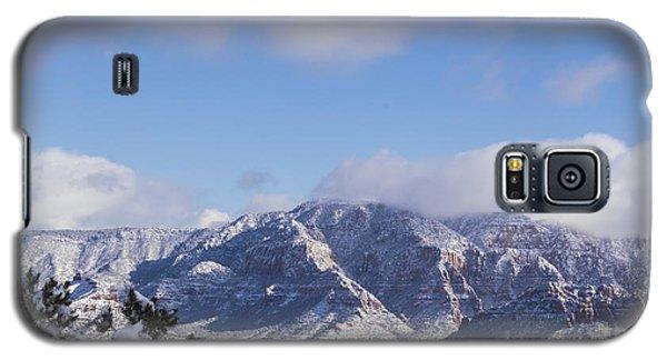 Snow Rim Galaxy S5 Case by Laura Pratt