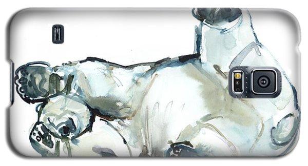 Snow Rub Galaxy S5 Case by Mark Adlington