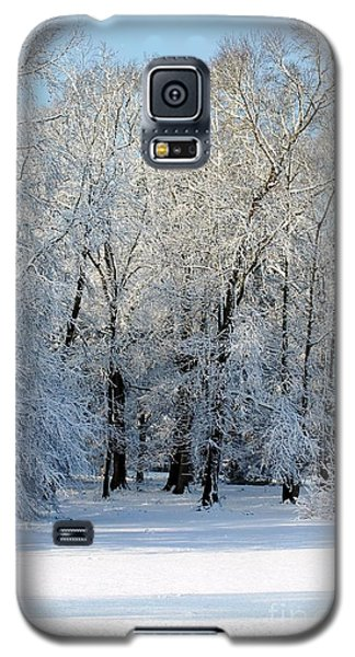 Snow Scene One Galaxy S5 Case