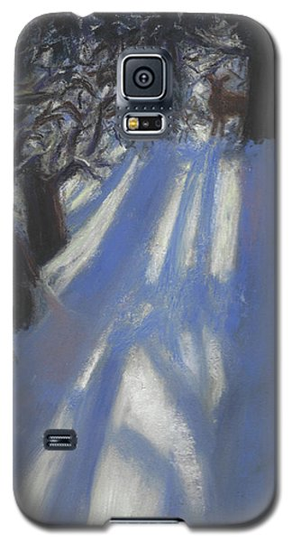 Snow Shadows Galaxy S5 Case