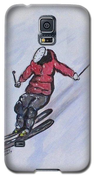 Snow Ski Fun Galaxy S5 Case