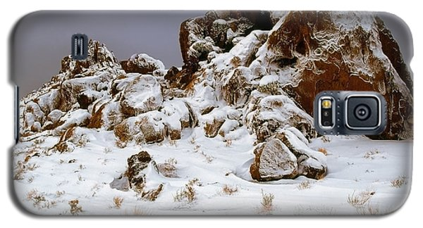 Snow Stones Galaxy S5 Case