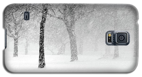 Snow Storm At Starved Rock Galaxy S5 Case