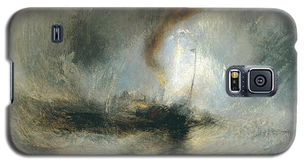 Galaxy S5 Case featuring the painting Snow Storm by Joseph Mallord William Turner