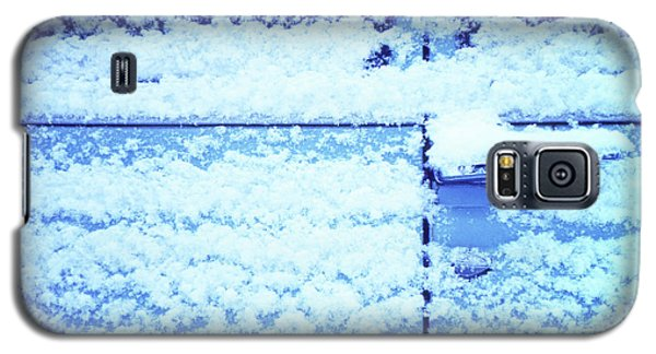 Snow Van 51 Chevy Panel Galaxy S5 Case