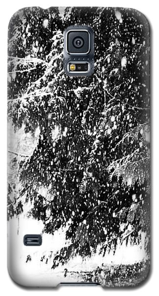 Galaxy S5 Case featuring the photograph Snow by Yulia Kazansky