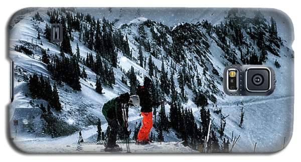 Galaxy S5 Case featuring the photograph Snowbird by Jim Hill