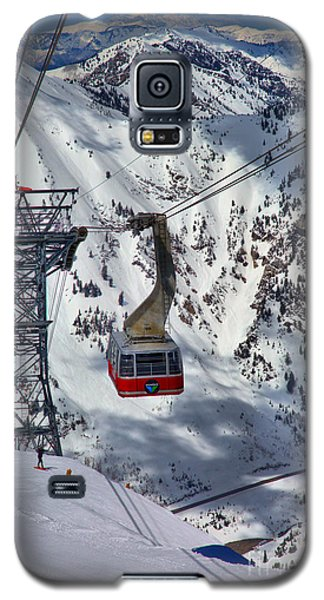 Snowbird Tram Portrait Galaxy S5 Case