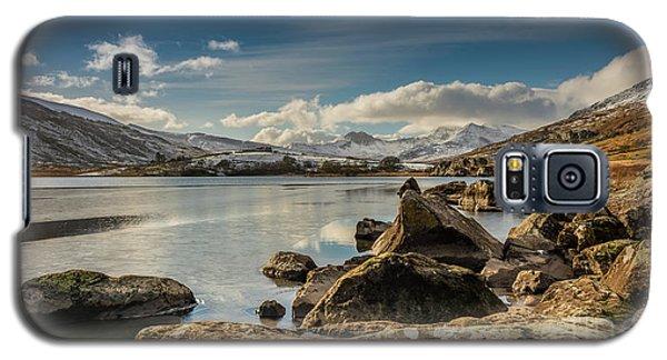 Galaxy S5 Case featuring the photograph Snowdon From Llynnau Mymbyr by Adrian Evans