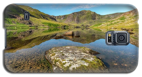 Galaxy S5 Case featuring the photograph Snowdonia Mountain Reflections by Adrian Evans