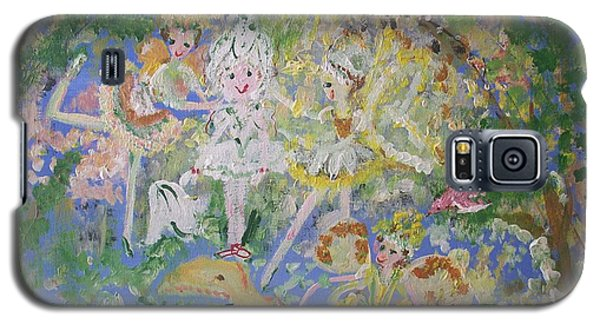 Snowdrop The Fairy And Friends Galaxy S5 Case by Judith Desrosiers