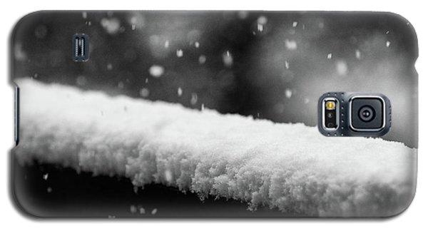Snowfall On The Handrail Galaxy S5 Case