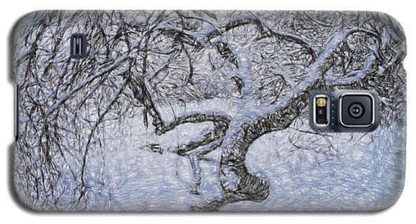 Snowfall Galaxy S5 Case by Vladimir Kholostykh