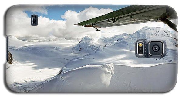 Snowfield Off Airplane Wing - Alaska Range Galaxy S5 Case