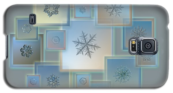 Snowflake Collage - Bright Crystals 2012-2014 Galaxy S5 Case