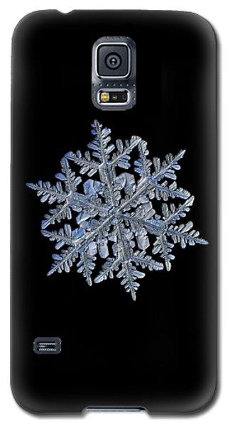 Snowflake Macro Photo - 13 February 2017 - 3 Black Galaxy S5 Case
