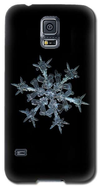 Snowflake Photo - Starlight Galaxy S5 Case