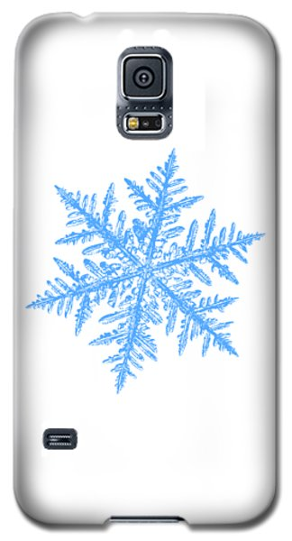Snowflake Vector - Silverware White Galaxy S5 Case