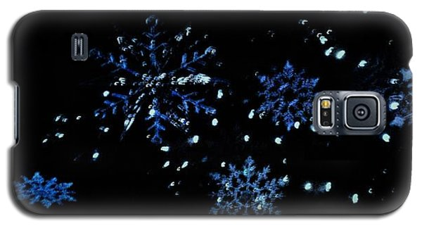 Snowflakes Galaxy S5 Case