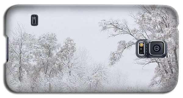 Snowing In A Starbucks Parking Lot Galaxy S5 Case