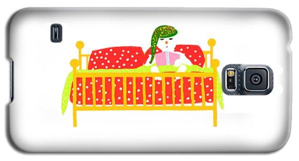 Snowman Bedtime Galaxy S5 Case