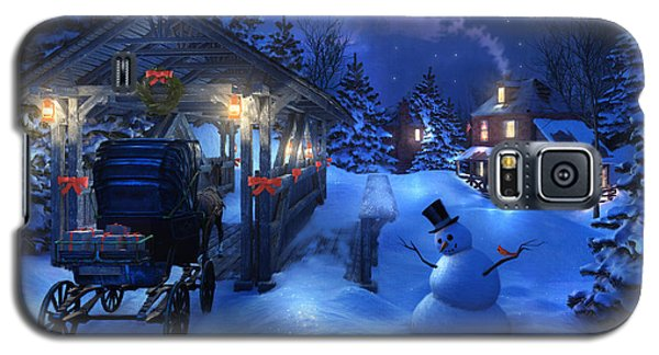 Snowman Crossing Galaxy S5 Case