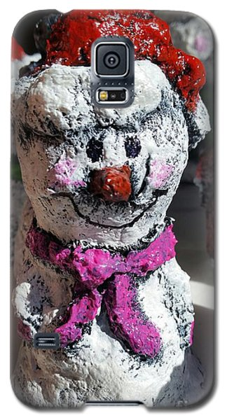 Snowman Pink Galaxy S5 Case by Vickie Scarlett-Fisher