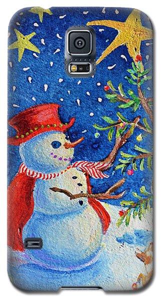 Snowmas Christmas Galaxy S5 Case