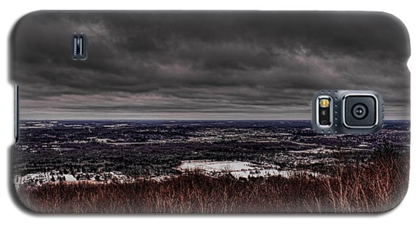 Snowstorm Clouds Over Rib Mountain State Park Galaxy S5 Case