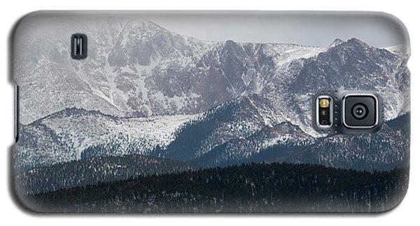 Snowstorm On Pikes Peak Galaxy S5 Case