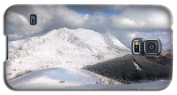 snowy Anboto from Urkiolamendi at winter Galaxy S5 Case