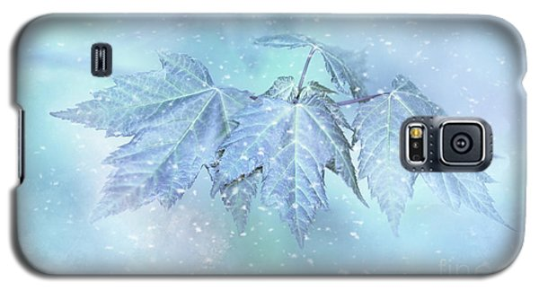 Snowy Baby Leaves Galaxy S5 Case